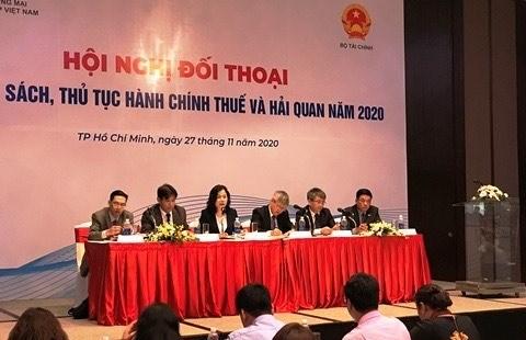 Le ministere des Finances a l'ecoute de la communaute des entreprises hinh anh 1