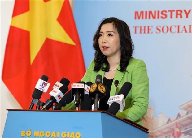 La porte-parole du ministere des AE rejette des informations d'Amnesty International hinh anh 1