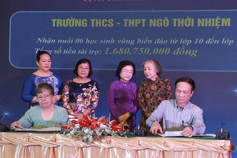 Le Fonds de bourses d'etudes Vu A Dinh recolte 53 mds de dongs de dons hinh anh 1