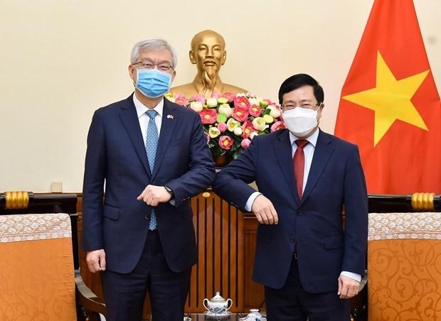 Le Vietnam plaide pour des liens accrus avec la Republique de Coree hinh anh 1