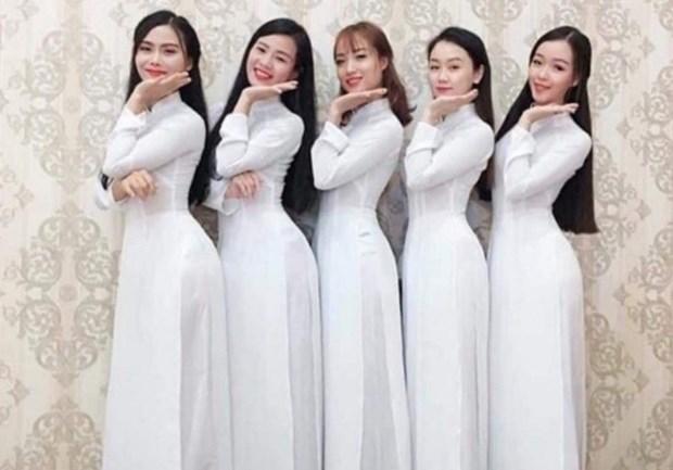 Et si l'ao dai devenait le costume national… hinh anh 1