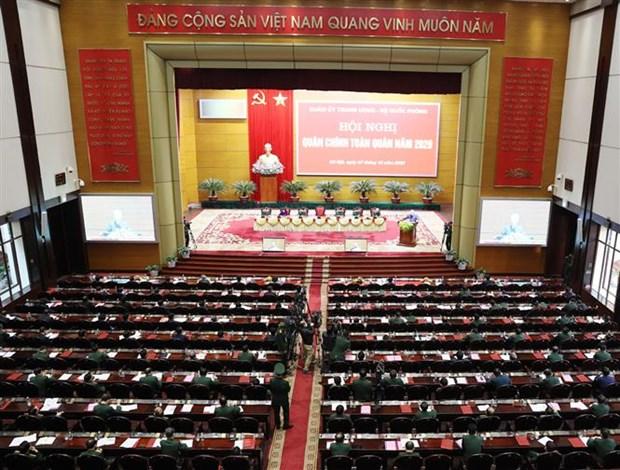 Le leader Nguyen Phu Trong souligne les grandes taches de l'armee hinh anh 2