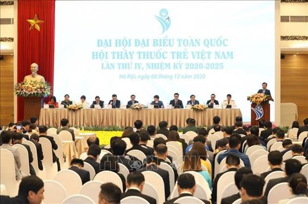 Ouverture du Congres de l'Association des jeunes medecins vietnamiens, mandat 2020-2025 hinh anh 1