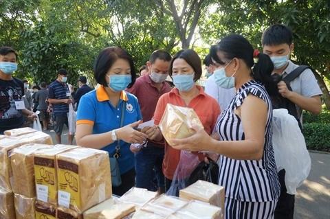 Ho Chi Minh-Ville : une foire a 0 dong pour les patients hinh anh 1