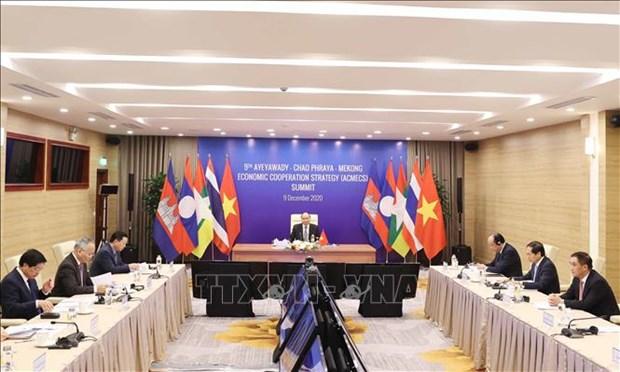 Le PM Nguyen Xuan Phuc assiste a l'ACMECS-9 hinh anh 1