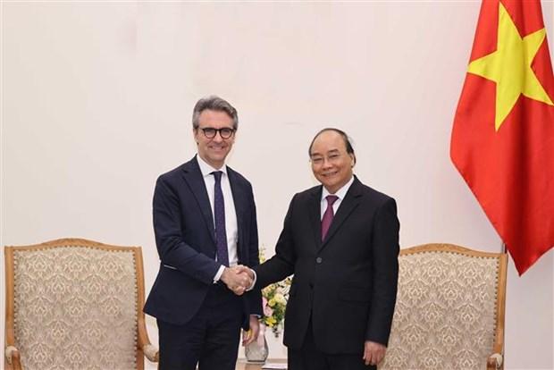L'UE est l'un des partenaires cles du Vietnam, dit le PM hinh anh 1
