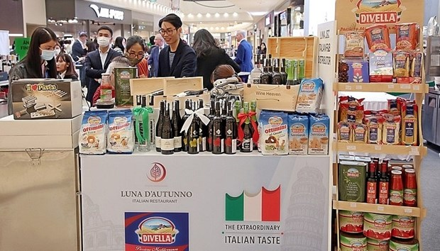 Les produits agricoles vietnamiens ont la cote en Italie hinh anh 1