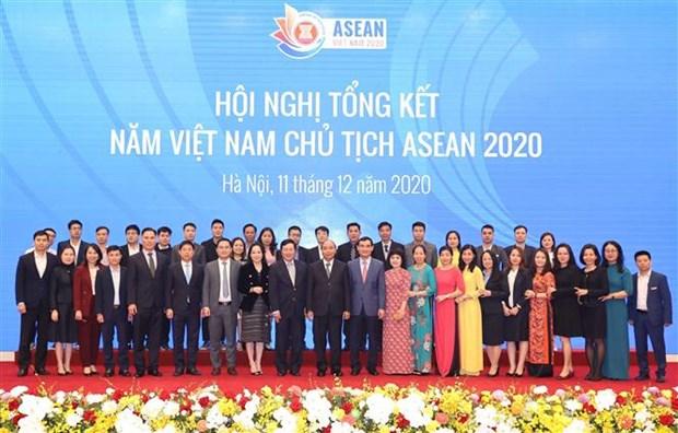 PM : L'Annee de la presidence vietnamienne de l'ASEAN 2020 est un succes hinh anh 1