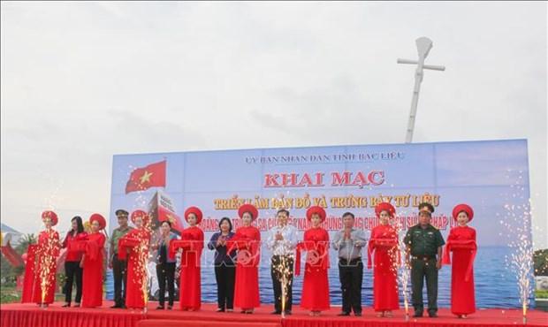 Exposition de cartes et d'archives sur Hoang Sa et Truong Sa a Bac Lieu hinh anh 1