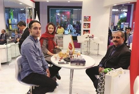 Une Vietnamienne fait fortune grace aux produits agricoles iraniens hinh anh 2
