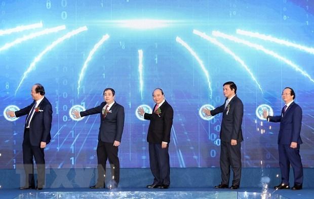 Le PM donne le coup d'envoi d'un grand projet de la ZE de Thai Binh hinh anh 1