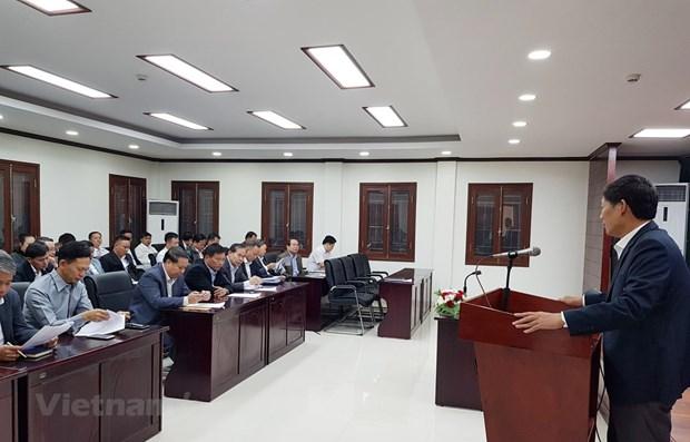 Conference des affaires du Vietnam a Luang Prabang hinh anh 1
