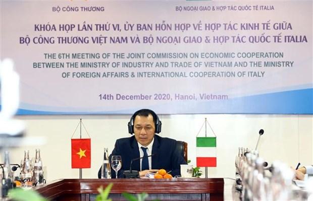 Promotion de la cooperation economique Vietnam-Italie hinh anh 1