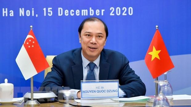 La 13e consultation politique Vietnam - Singapore hinh anh 1