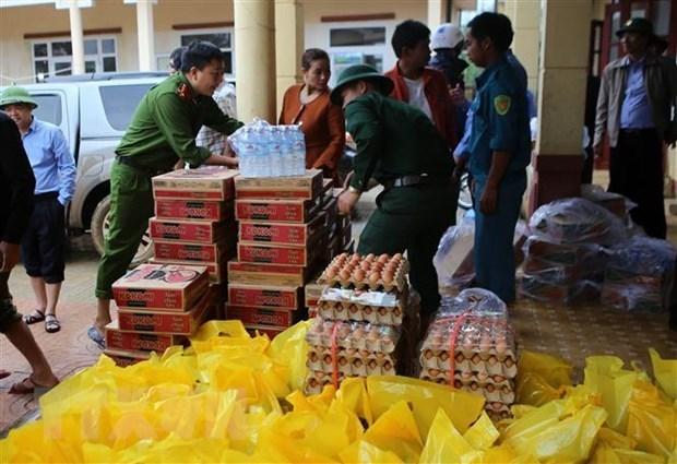 Le Vietnam obtient 25 M de dollars d'aide aux sinistres dans le Centre hinh anh 1
