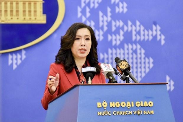 Le Vietnam maintient le dialogue avec les Etats-Unis pour gerer les problemes de relations economiques hinh anh 1