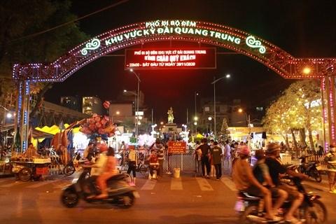 Une nouvelle rue pietonne attirante a Ho Chi Minh-Ville hinh anh 1