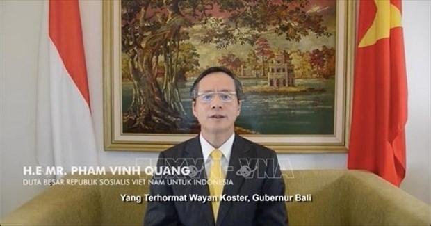 L'ambassade du Vietnam en Indonesie protege les pecheurs detenus a Tanjungpinang hinh anh 1