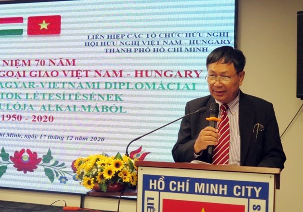 Celebration des relations diplomatiques Vietnam-Hongrie a Ho Chi Minh-Ville hinh anh 1