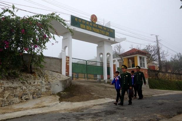 Lai Chau: quand les gardes-frontieres adoptent des enfants hinh anh 1