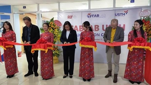 """FABLAB, un """"atelier"""" pour stimuler la creativite chez les etudiants hinh anh 1"""