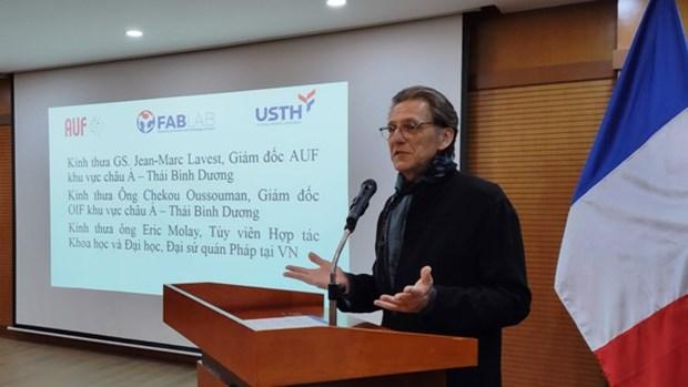 """FABLAB, un """"atelier"""" pour stimuler la creativite chez les etudiants hinh anh 2"""