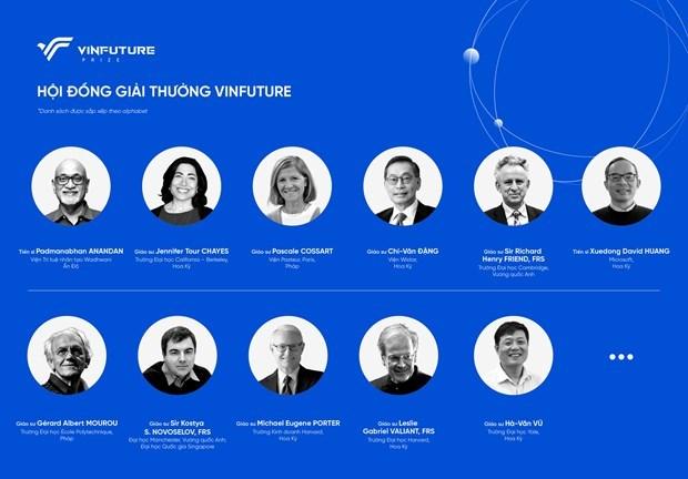 Vingroup annonce les Prix mondiaux VinFuture hinh anh 2