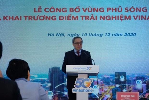 Vinaphone met en place son reseau 5G a Hanoi et a Ho Chi Minh-Ville hinh anh 1
