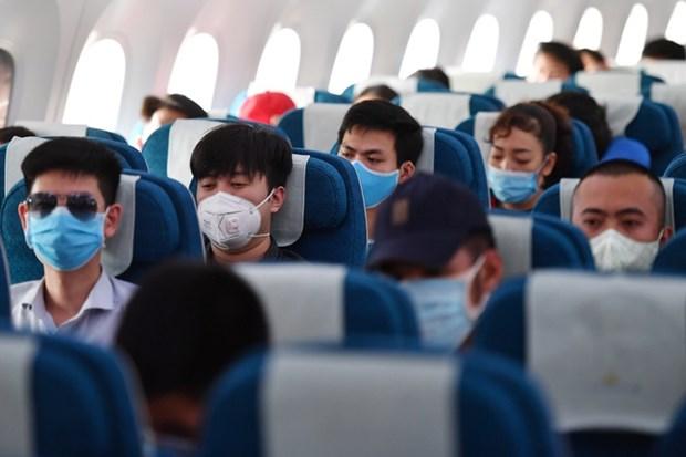 Le nombre de passagers dans les aeroports vietnamiens a chute de 44% hinh anh 1