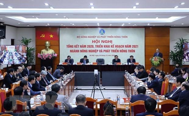 Le PM encourage le secteur agricole a porter ses exportations a 44 mlds de dollars en 2021 hinh anh 1