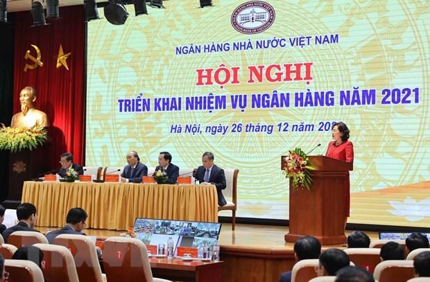 Le PM demande a la Banque d'Etat d'elaborer des plans specifiques pour la nouvelle situation hinh anh 2