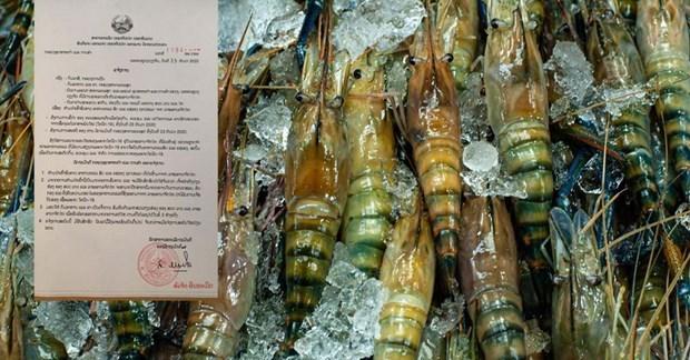 COVID-9 : Le Laos interdit l'importation de produits aquatiques de Thailande hinh anh 1