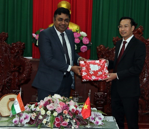 Promotion de cooperation entre Kien Giang des localites indiennes hinh anh 1