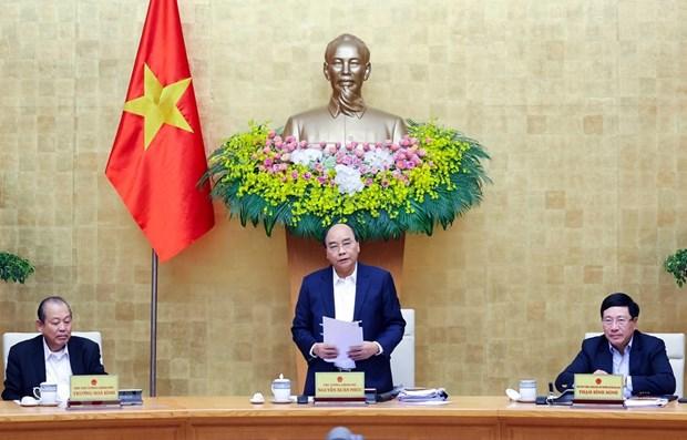 Reunion periodique de decembre du gouvernement hinh anh 1