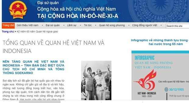 Le Vietnam felicite l'Indonesie pour les 65 ans des relations diplomatiques hinh anh 1