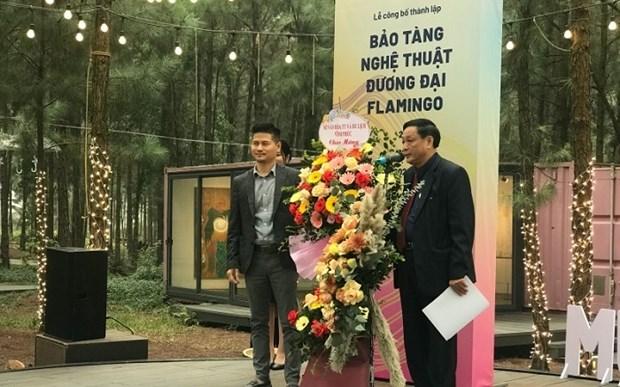 Le premier musee d'art contemporain au Vietnam ouvre ses portes hinh anh 1
