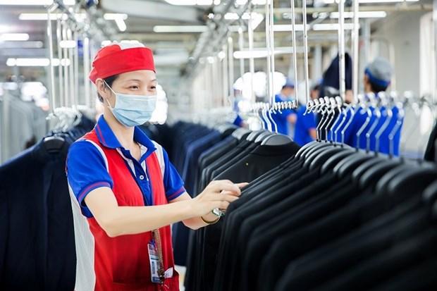 Le textile vietnamien vise 39 milliards de dollars d'exportations en 2021 hinh anh 1