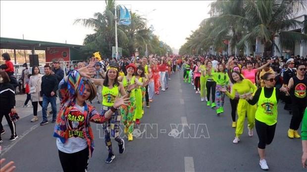 Le premier Carnaval d'hiver a Quang Ninh hinh anh 3