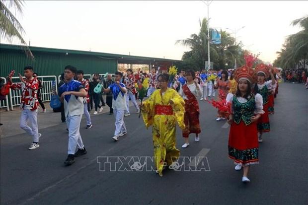 Le premier Carnaval d'hiver a Quang Ninh hinh anh 4