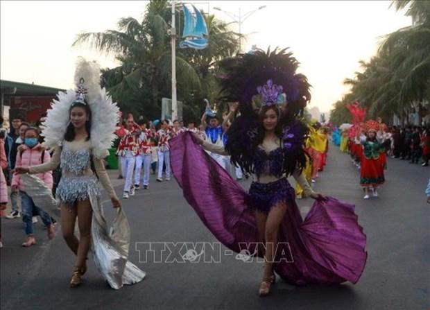 Le premier Carnaval d'hiver a Quang Ninh hinh anh 7