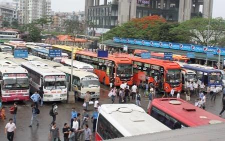 Transport a l'approche du Tet : la diminution du nombre de passagers hinh anh 1
