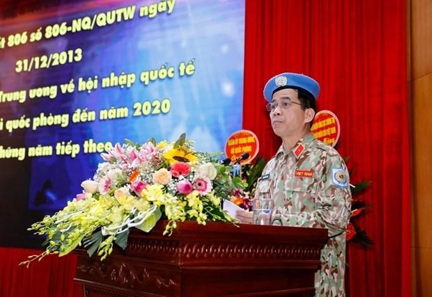 Le Vietnam envoie 179 soldats dans des operations de maintien de paix en periode 2012-2020 hinh anh 1