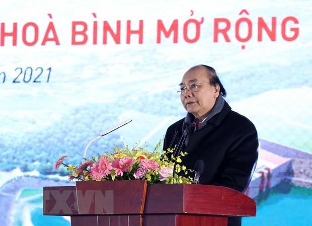 Mise en chantier du projet de l'agrandissement de la centrale hydroelectrique de Hoa Binh hinh anh 2