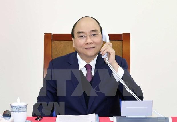 Les Etats-Unis et le Vietnam travaillent pour resoudre les questions commerciales hinh anh 1