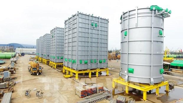 Doosan Vina exporte pour la premiere fois des equipements petrochimiques en Thailande hinh anh 1