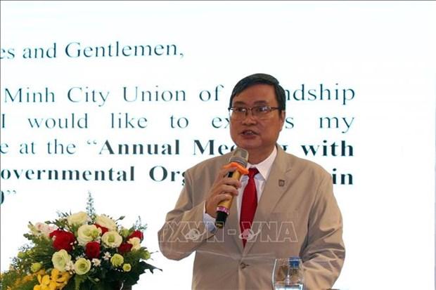 Ho Chi Minh-Ville souhaite continuer de beneficier du soutien des ONG hinh anh 1