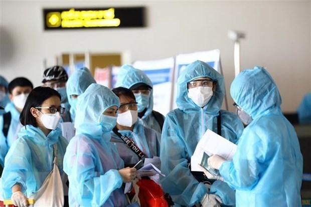Des citoyens vietnamiens conseilles de ne rentrer chez eux lorsque cela est vraiment necessaire hinh anh 1