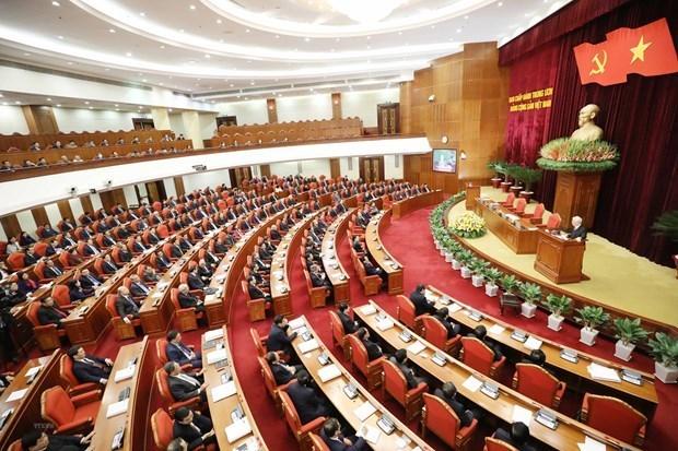 Ouverture du 15e Plenum du Comite central du Parti hinh anh 1