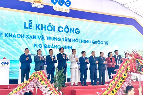 Quang Binh : mise en chantier d'un complexe hotelier 5 etoiles hinh anh 1