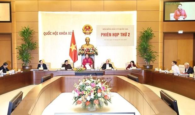 Le Conseil electoral national se reunit en 2e session hinh anh 1